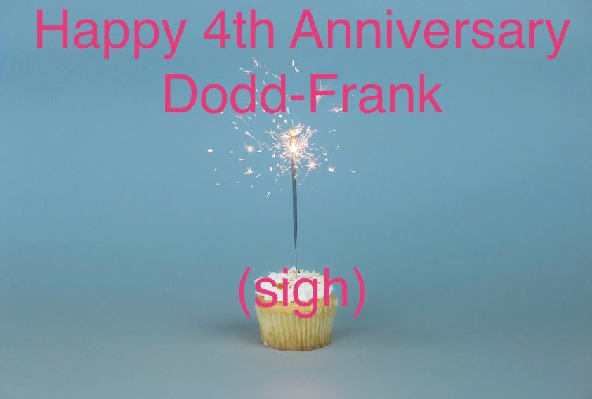 4 th anniversary of Dodd Frank