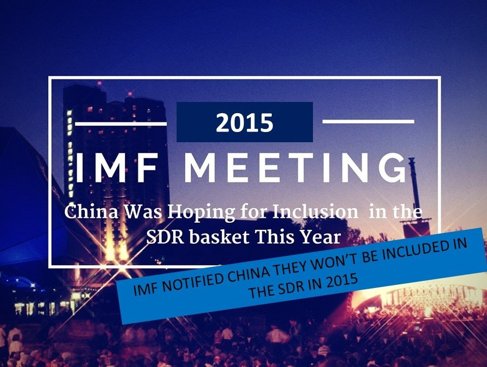 China seeks inclusion in IMF